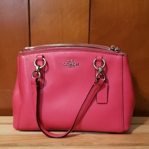 Coach Mini Christie Satchel Handbag.